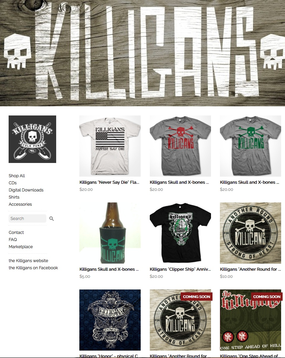 Merch Store and shows update