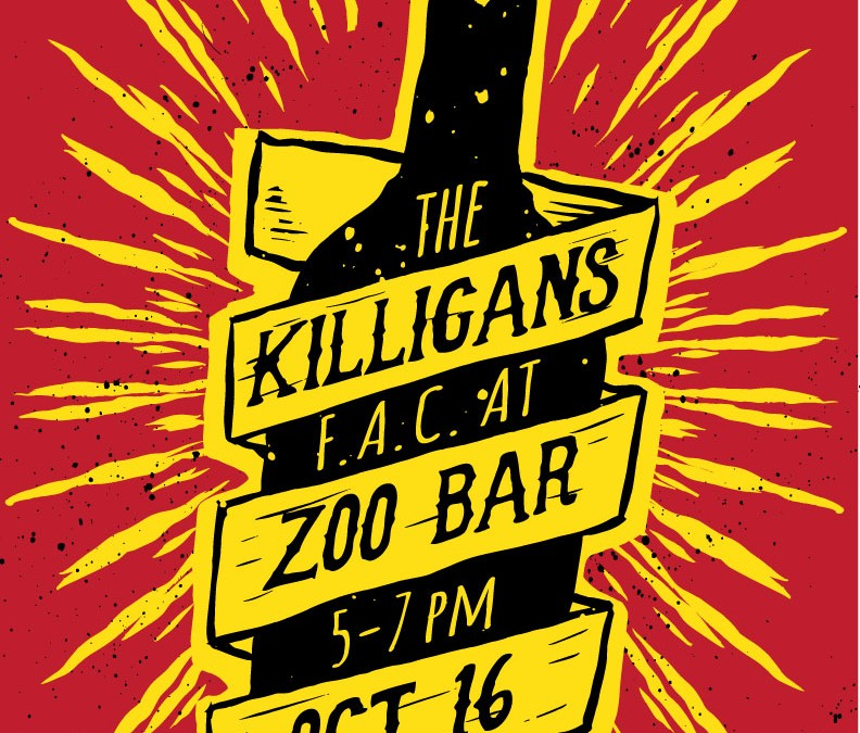 Killigans F.A.C at Zoo Bar – Oct 16